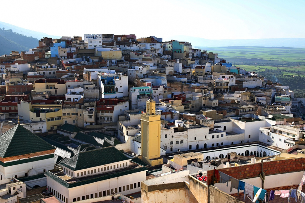 Moulay Idriss por Marcos Chanca
